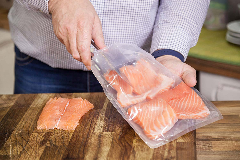 Vakuuminiai maišeliai maisto produktams